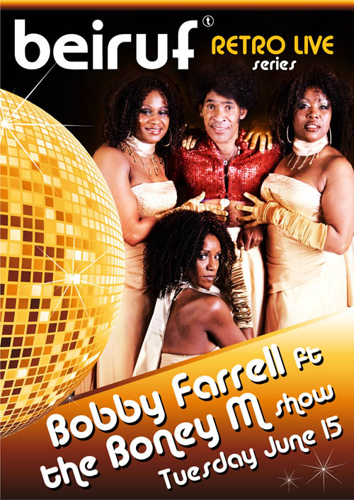 Bobby Farrell ft. BONEY M LIVE at BEIRUF Beirut