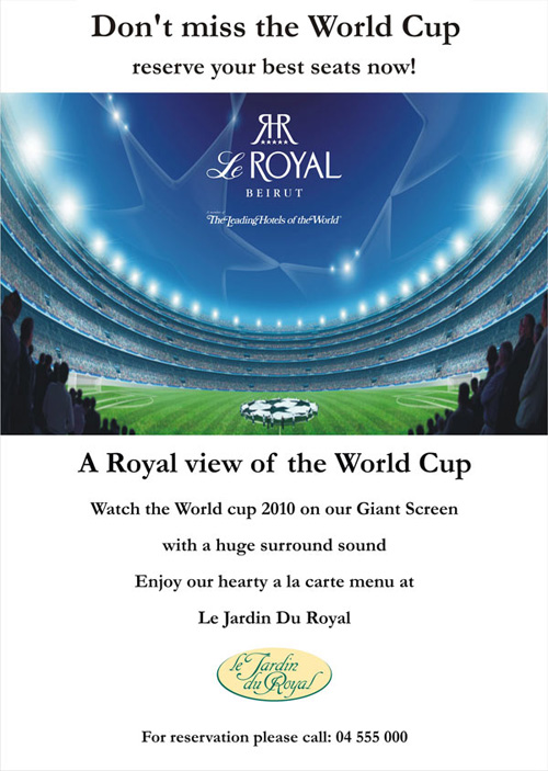 WC 2010 at Le Royal- Dbayeh
