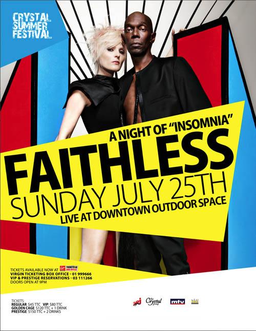 FAITHLESS Live in Beirut!!!!