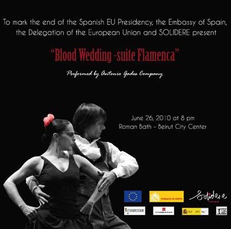 Blood Wedding -suite Flamenca