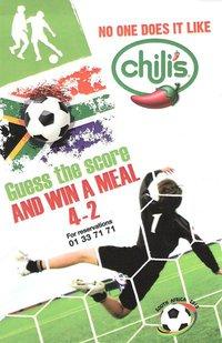 This summer Kick it at Chili's!