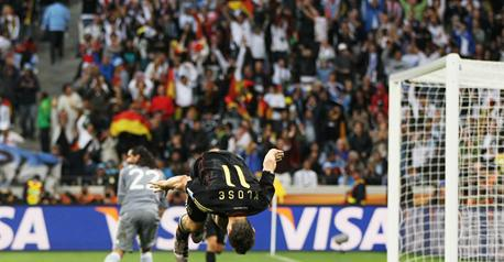 Germany send Maradona back home!!