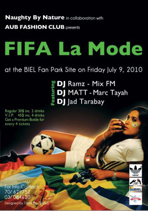 Fifa La Mode- Beirut World Cup Fan Park