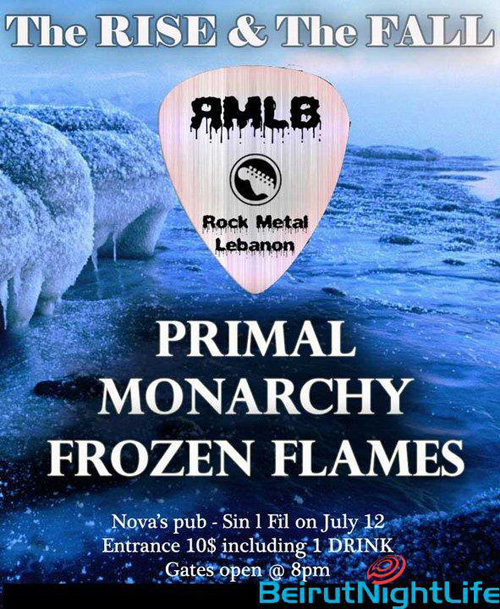 Primal Monarchy Frozen Flames