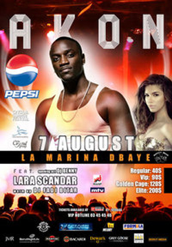Akon live in Beirut