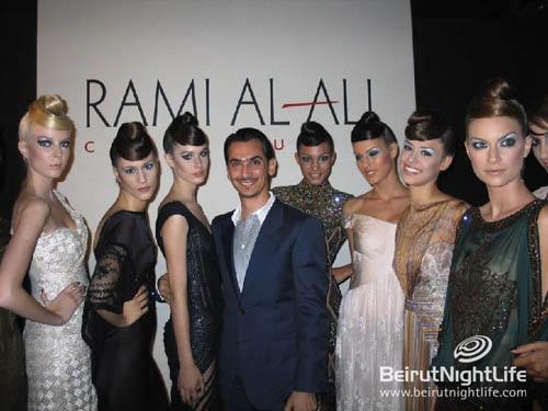 Rami Al Ali's Haute Couture Show in Roma