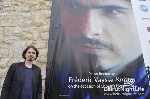 Byblos International Festival 2010: Frédéric Vaysse-Knitter