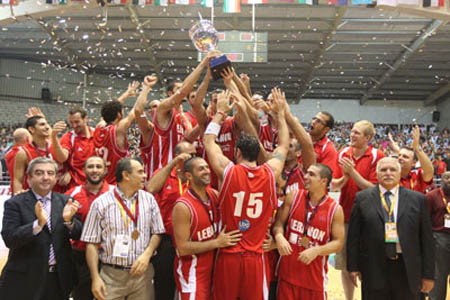 Lebanon VS Canada: Opening games for 2010 FIBA World Championship in Turkey