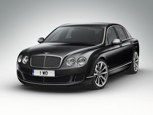 Special Bentley for the Middle East