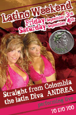 """Latin Weekend….. With Colombian diva """"Andrea"""""""