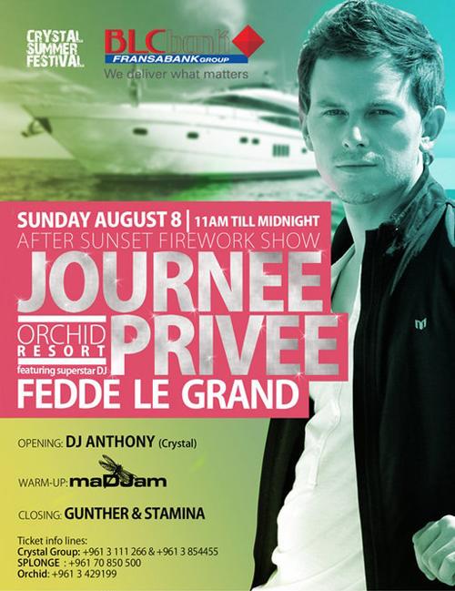 JOURNEE PRIVEE feat. FEDDE LE GRAND