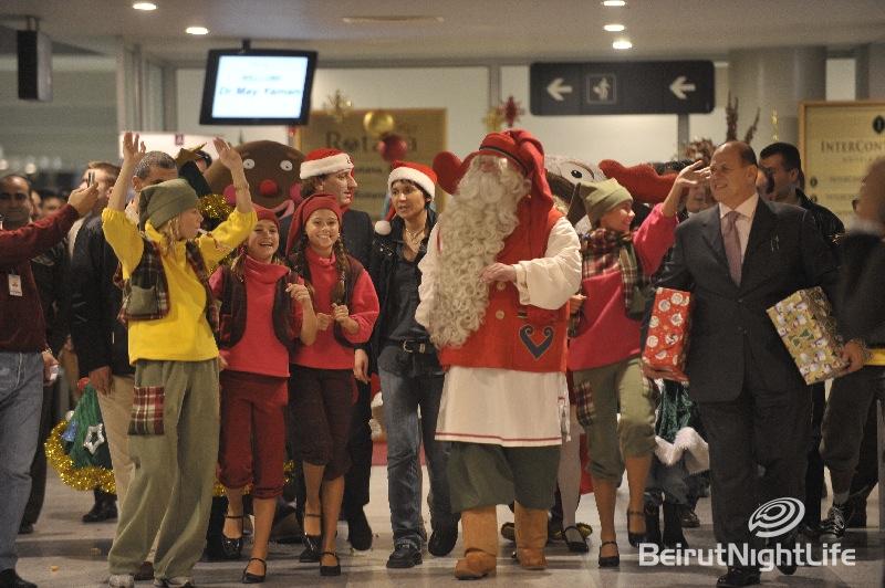 Santa Clause In Beirut 2009