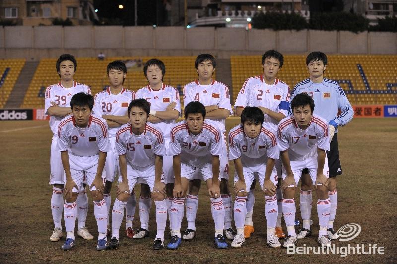 FootBall Lebanon vs China
