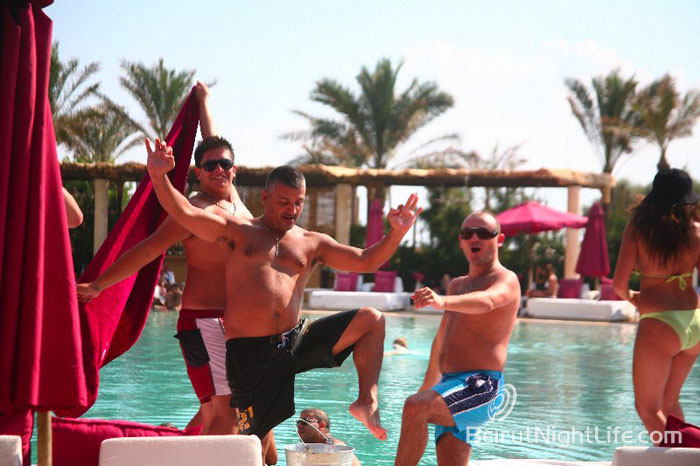 Edde Sands Soft Pool Party