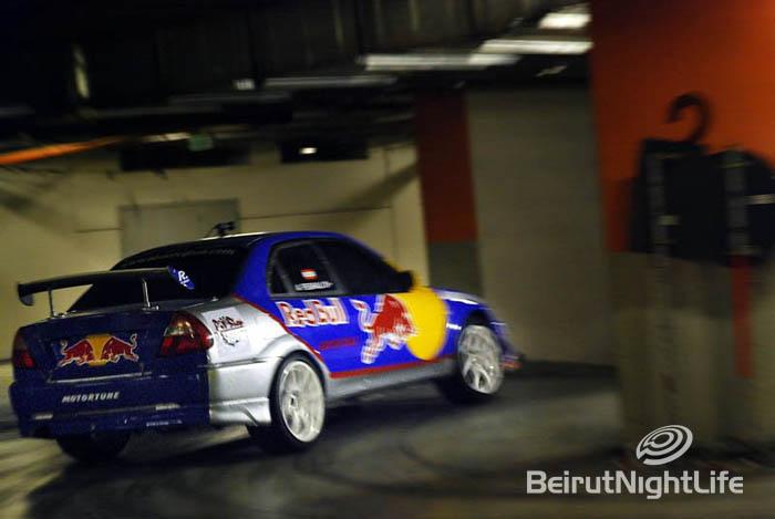 RedBull Car Drift