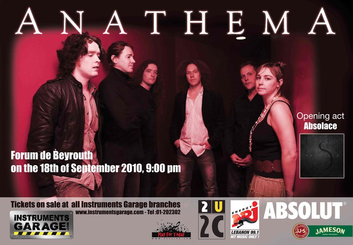ANATHEMA LIVE IN BEIRUT!