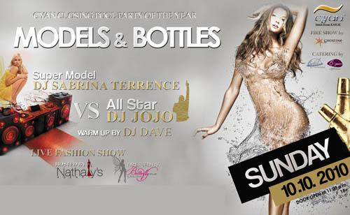 MODELS and BOTTLES