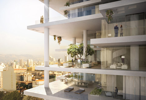 Modern Architecture: Beirut Terrace
