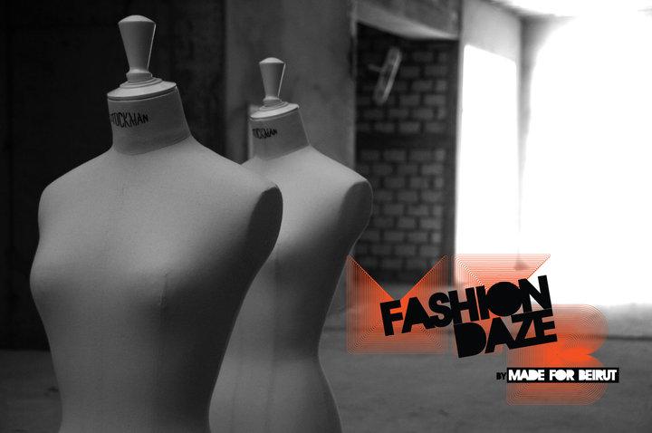 Fashion Daze In a raw forsaken urban space within Beirut Souks