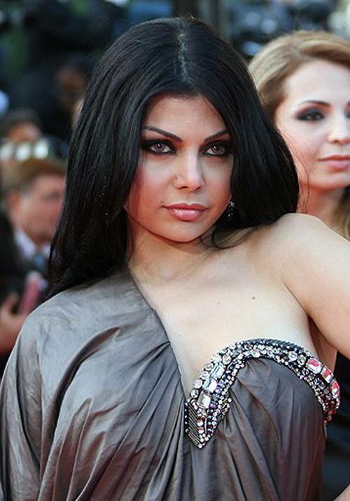 Haifa Wehbe Awarded in Alexandria
