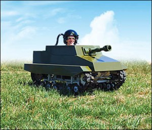 Funtrak Mini Paintball Tanks