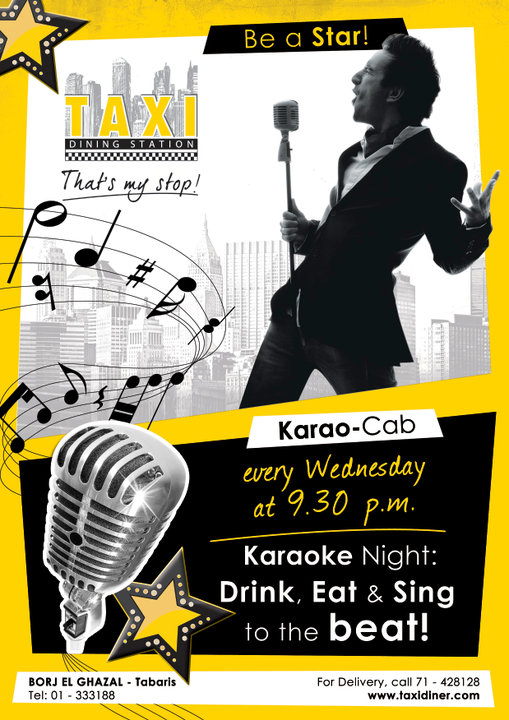 Launching karaoke nights at TAXI DINER