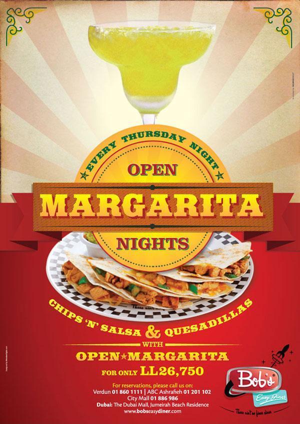 Open Margarita Nights in town !