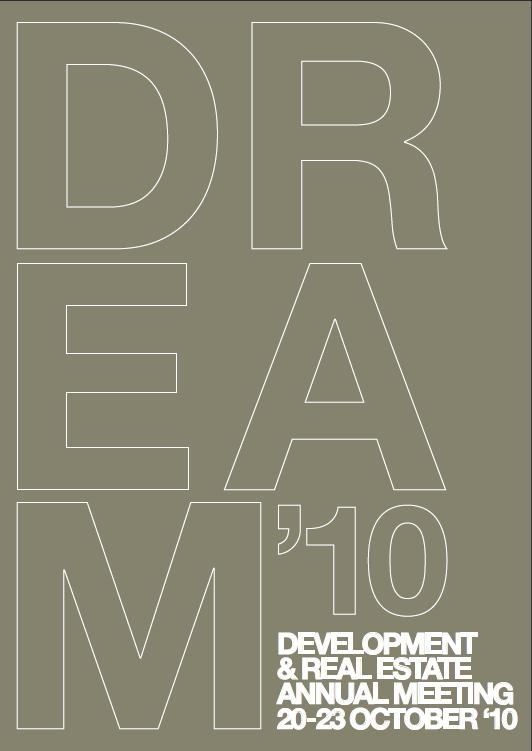DREAM'10 Development And Real Estate Annual Meeting