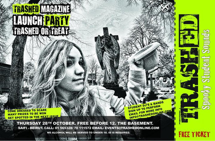 TRASHED MAGAZINE – Spooky Student Sounds