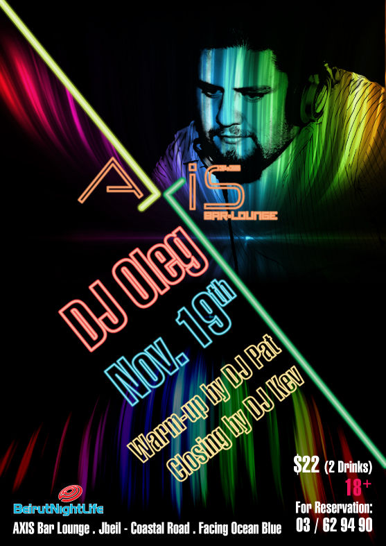 DJ OLEG At AXIS Rooftop