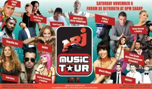 Few Hours to the NRJ Music Tour
