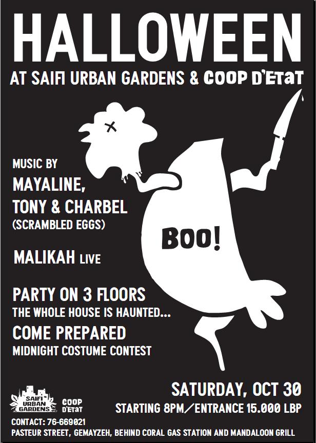 Halloween At Saifi Urban Gardens