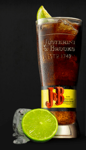 J&B and Cola