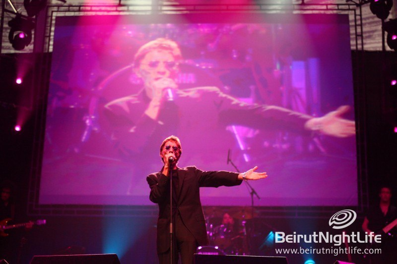Robin Gibb Serenades Lebanon