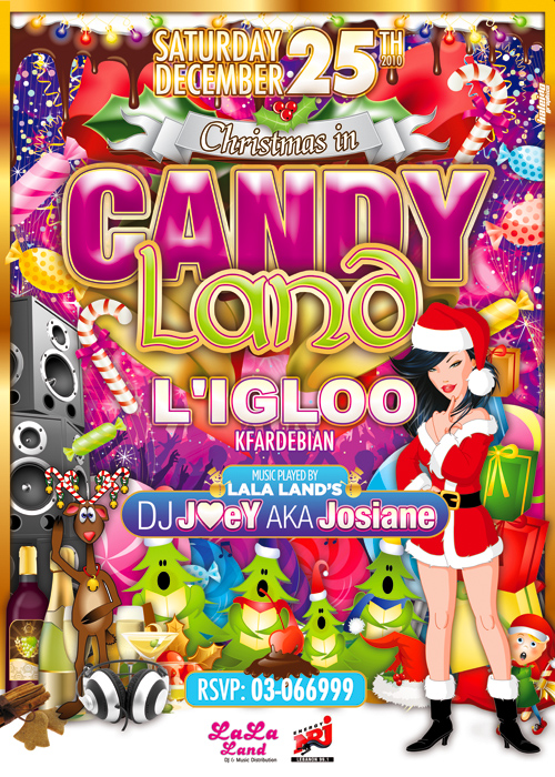 Christmas In Candy Land At Igloo