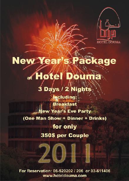 New Year's Eve At Hotel Douma