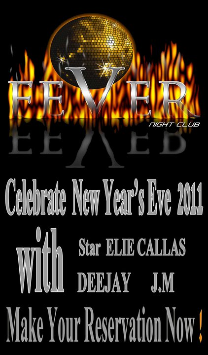 New Year's Eve 2011 Good Bye 2010 At Fever Club
