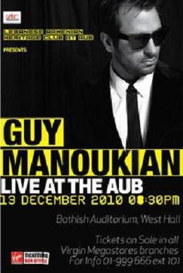 Guy Manoukian Live At Aub
