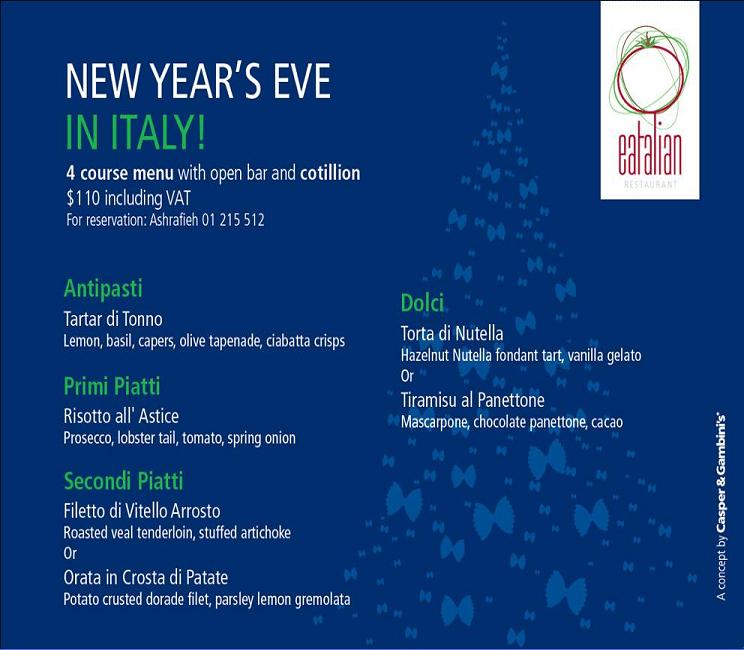 New Year's Eve In Italy