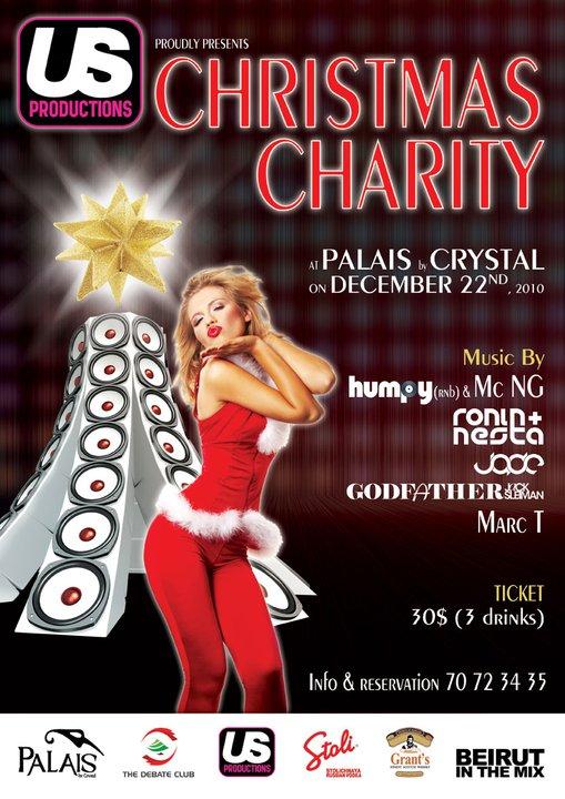 Us Productions Christmas Charity At Palais