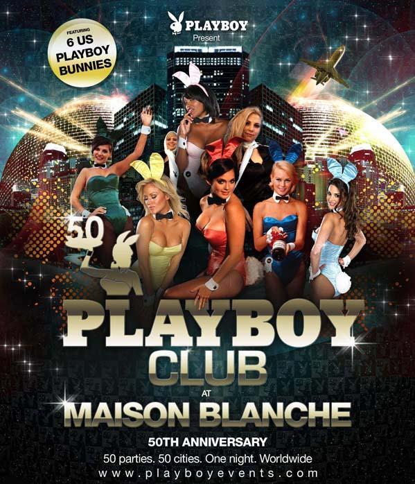 New Year's Eve PlayBoy Mansion At La Maison Blanche