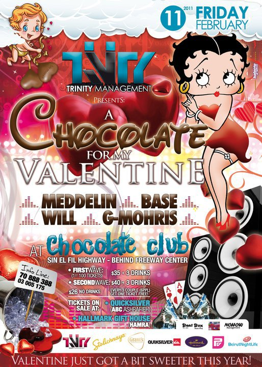 A Chocolate For My Valentine At Chocolate Club