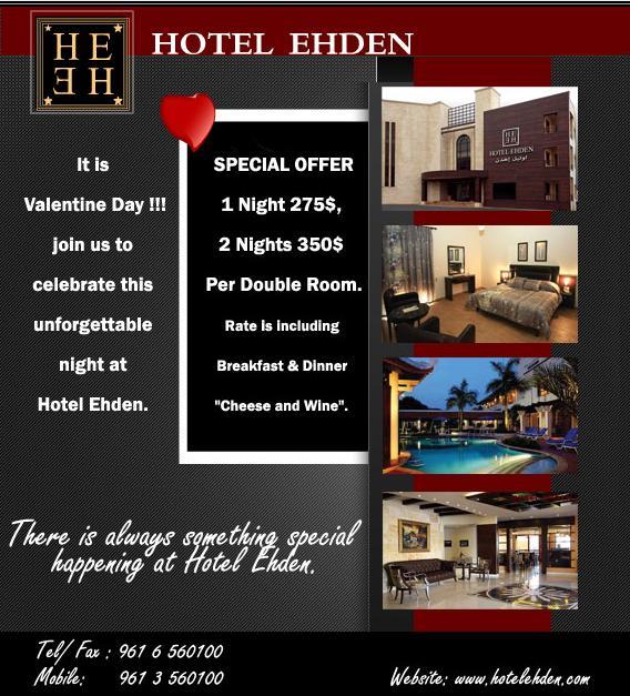 Cozy Valentine At Hotel Ehden