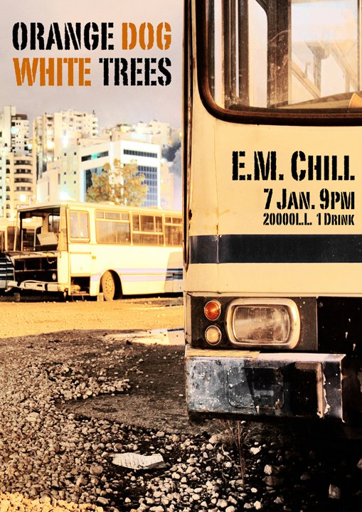 Orange Dog And White Trees Live At Em Chill