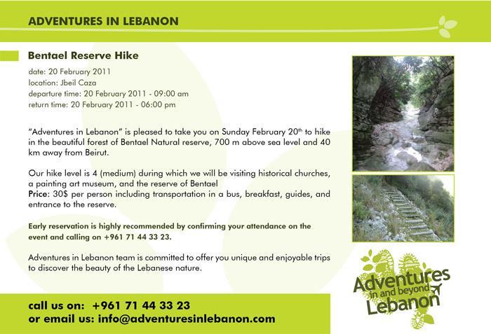 Bentael Reserve Hike