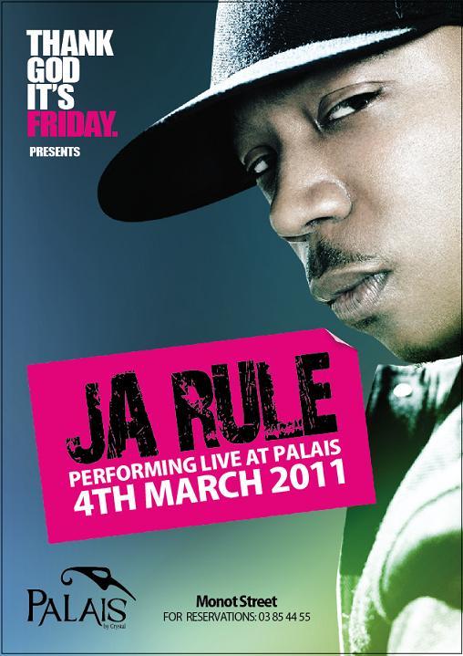 Ja Rule Performing Live At Palais