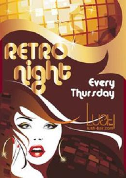 Retro Night At Lush