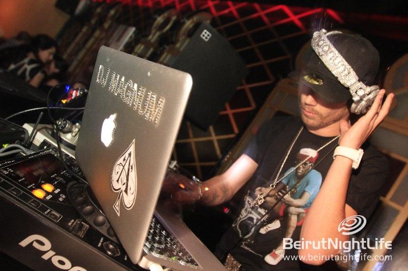 DJ Magnum at Maison Blanche