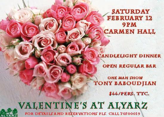 Valentine's At Alyarz