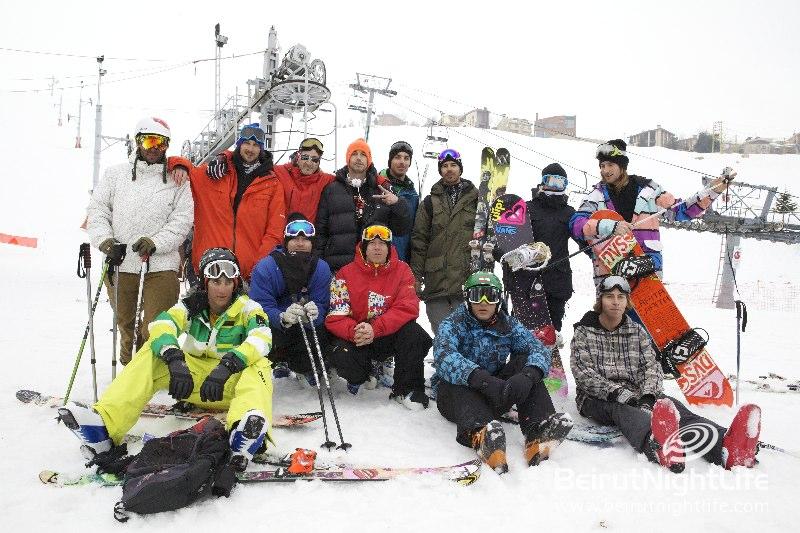 Head Up to Mzaar Winter Festival 2011